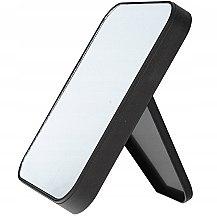 Profumi e cosmetici Specchio cosmetico bifacciale, 85062, nero - Top Choice