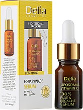 Profumi e cosmetici Siero ad elevato contenuto di vitamina C - Delia Liposomal Vitamin C 100% Face Neckline Serum Anti Wrinkle Treatment