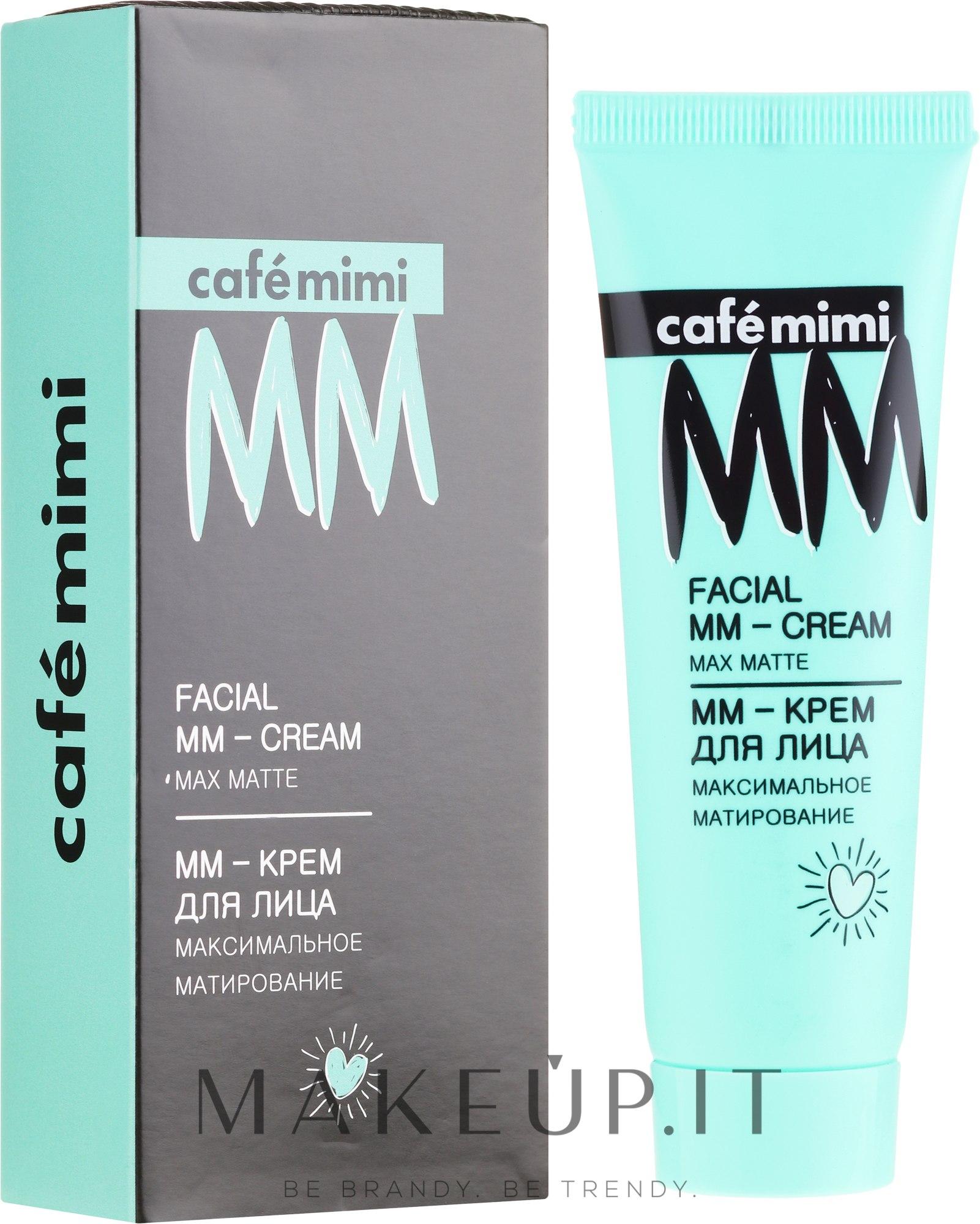 MM-crema viso opacizzante - Cafe Mimi Facial Mm-Cream Max Matte — foto 50 ml