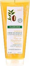 Profumi e cosmetici Crema doccia - Klorane Cupuacu Frangipani Flower Nourishing Shower Cream