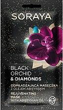 Profumi e cosmetici Maschera viso - Soraya Black Orchid & Diamonds Rejuvenating Mask