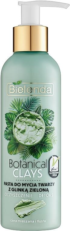 Pasta viso all'argilla verde - Bielenda Botanical Clays Vegan Face Wash Paste Green Clay