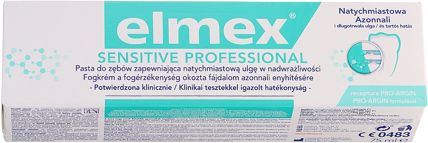 Dentifricio - Elmex Professional Sensitive Toothpaste