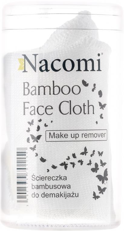 Panno di bambù, struccante - Nacomi Bamboo Face Cloth