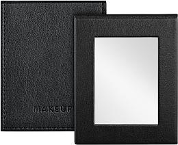 Profumi e cosmetici Specchio tascabile pieghevole, nero - MakeUp Pocket Mirror Black