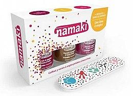 Profumi e cosmetici Set - Namaki (polish/7.5ml+acc) (Caribbean + Coral-bronze + Lime)