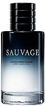 Profumi e cosmetici Dior Sauvage - Lozione dopobarba