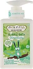 "Profumi e cosmetici Bagnoschiuma ""Naturale"" per bambini - Jack N' Jill Bubble Bath Simplicity"