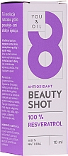 Profumi e cosmetici Siero viso - You & Oil Serum Facial N8 Antioxidante Natural Vegano Resveratrol Beauty Shot