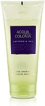 Profumi e cosmetici Maurer & Wirtz 4711 Acqua Colonia Saffron & Iris - Gel doccia
