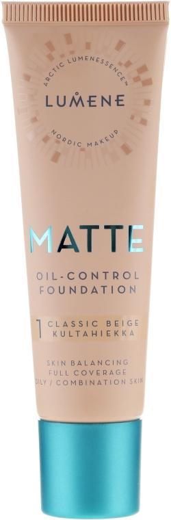 Fondotinta opacizzante - Lumene Matte Oil-control Foundation
