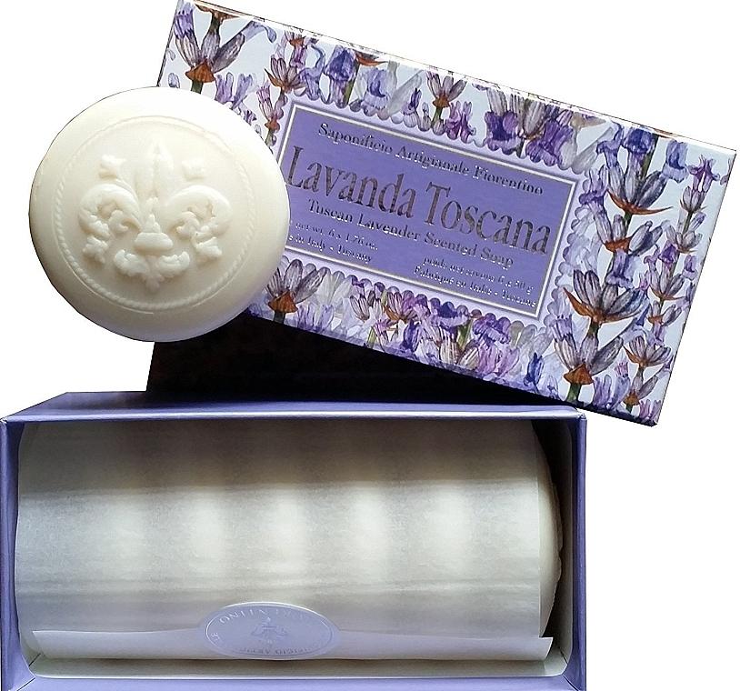 """Set di saponette """"Lavanda toscana"""" - Saponificio Artigianale Fiorentino Lavender Toscana (Soap/6x50g)"""
