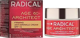 Profumi e cosmetici Crema antirughe 60+ SPF15 - Farmona Radical Age Architect Firming Anti Wrinkle Cream