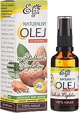 Profumi e cosmetici Olio naturale di mandorle - Etja