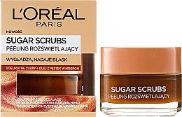 Profumi e cosmetici Scrub viso allo zucchero - L'Oreal Paris Sugar Scrubs