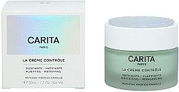 Profumi e cosmetici Crema contorno occhi opacizzante - Carita Ideal Controle La Creme Controle Purifying Mattifying