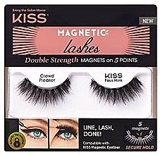 Profumi e cosmetici Ciglia finte magnetiche - Kiss Magnetic Lashes Double Strength KMEL 05 Crowd Pleaser