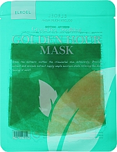Profumi e cosmetici Maschera viso in tessuto lenitiva - Elroel Golden Hour Mask Green Tea Soothing