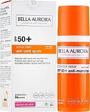 Profumi e cosmetici Crema-fluido solare - Bella Aurora Anti-Manchas Treatment SPF50+