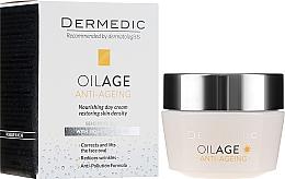 Profumi e cosmetici Crema da giorno con Fitoestrogeni 40-60+ - Dermedic Oilage Tri Oleum