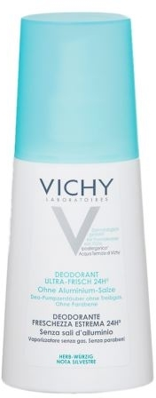 Deodorante spray - Vichy Deodorant Ultra Fresch 24h Spray — foto N1