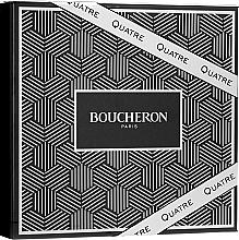 Profumi e cosmetici Boucheron Quatre Boucheron Pour Homme - Set (edt/100ml + ash/balm/100ml + sh/gel/100ml)
