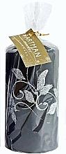 Profumi e cosmetici Candela decorativa, nera, 7x14 cm - Artman Amelia