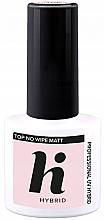 Profumi e cosmetici Top coat opaco - Hi Hybrid Top No Wipe Matt