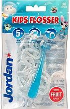 Profumi e cosmetici Set - Jordan Kids Flosser (floss/1szt+refils/36szt)