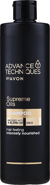 """Shampoo per tutti i tipi di capelli """"Oli preziosi"""" - Avon Advance Techniques Shampoo — foto N1"""