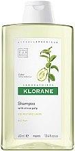 Profumi e cosmetici Shampoo al limone tonico per brillantezza dei capelli - Klorane Shampoo With Citrus Pulp