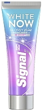 Profumi e cosmetici Dentifricio sbiancante - Signal White Now Glossy Shine Toothpaste