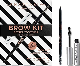 Profumi e cosmetici Set - Anastasia Beverly Hills Better Together Brow Kit Taupe (pencil/0.085g + gel/2.5ml)