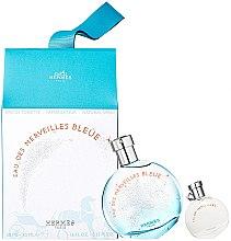 Profumi e cosmetici Hermes Eau des Merveilles Bleue - Set (edt/50ml + edt/7.5ml)