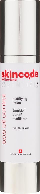 Lozione viso opacizzante - Skincode Essentials S.O.S Oil Control Mattifying Lotion — foto N2