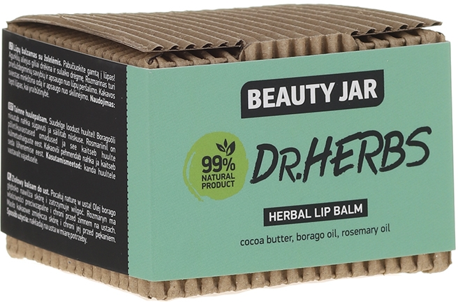 Balsamo labbra - Beauty Jar Dr.Herbs Herbal Lip Balm