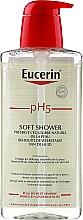 Profumi e cosmetici Gel doccia delicato - Eucerin pH5 Soft Shower Gel Dry & Sensitive Skin