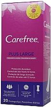 Profumi e cosmetici Assorbenti igienici giornalieri, 20 pz - Carefree Plus Large