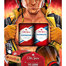 Profumi e cosmetici Set - Old Spice WhiteWater Fireman (deo/50g + sh/gel/250ml)