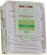 Profumi e cosmetici Batuffoli di cotone biologico, 200 pz - Bocoton Bio
