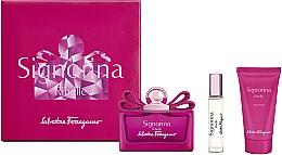 Profumi e cosmetici Salvatore Ferragamo Signorina Ribelle - Set (edp/100ml +edp/10ml+ b/lot/50ml)
