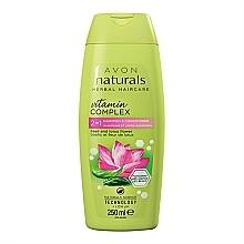 """Profumi e cosmetici Shampoo-balsamo 2 in 1 """"Fiore di loto e basilico"""" - Avon Naturals Hair Care Shampoo"""
