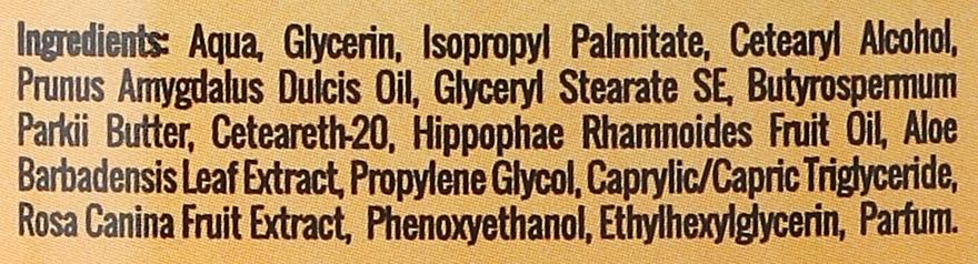 Lozione corpo, con olio di olivello spinoso biologico - GlySkinCare Organic Seaberry Oil Body Lotion — foto N3
