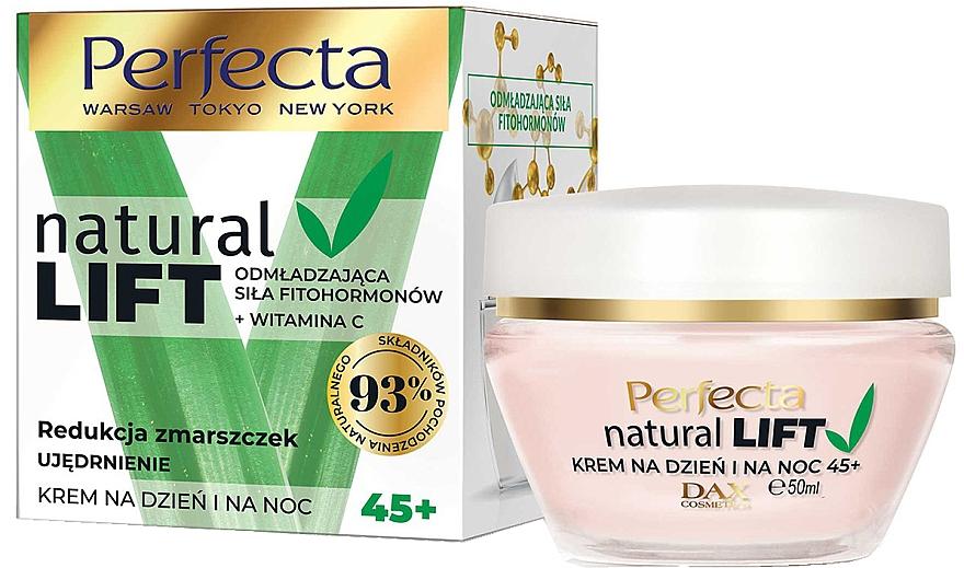 Crema rassodante antirughe 45+ - Perfecta Natural Lift Anti-wrinkle Firming Cream