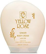 Profumi e cosmetici Crema corpo - Yellow Rose Ginger Body Cream