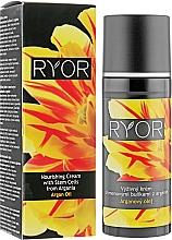 Profumi e cosmetici Crema nutriente alle cellule staminali di Argan - Ryor Argan Oil Nourishing Cream With Argania Stem Cells
