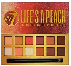 Profumi e cosmetici Palette di ombretti - W7 Life's A Peach Eyeshadow Palette