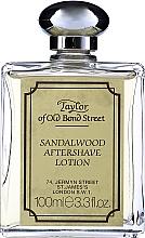 Profumi e cosmetici Taylor Of Old Bond Street Sandalwood Aftershave Lotion Alcohol-Based - Lozione dopobarba