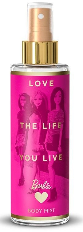 Spray corpo bambino - Bi-Es Barbie Love The Life Body Mist