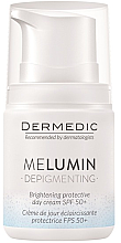 Profumi e cosmetici Crema schiarente - Dermedic MeLumin Depigmenting Cream SPF 50+